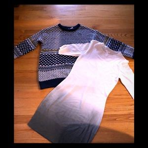 Two Sweaters New Sz S